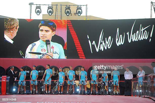 69th Tour of Spain 2014 / Team Presentation Astana Pro Team / ARU Fabio / FOMINYKH Daniil / GUARDINI Andrea / GUARNIERI Jacopo / KANGERT Tanel /...