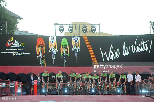 69th Tour of Spain 2014 / Team Presentation Belkin Pro Cycling Team / KELDERMAN Wilco / CLEMENT Stef / TEN DAM Laurens / GESINK Robert / HOFLAND...