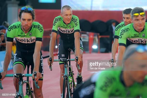 69th Tour of Spain 2014 / Team Presentation GESINK Robert / Presentation d'Equipes Ploegenpresentatie / Plaza del Mamelon / Vuelta Tour d'Espagne...