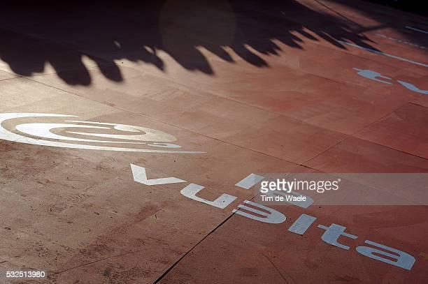 69th Tour of Spain 2014 / Team Presentation Illustration Illustratie / Logo / Shadow Hombre Schaduw / Presentation d'Equipes Ploegenpresentatie /...