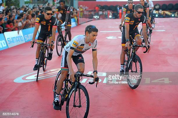 69th Tour of Spain 2014 / Team Presentation MEINTJES Louis / Presentation d'Equipes Ploegenpresentatie / Plaza del Mamelon / Vuelta Tour d'Espagne...