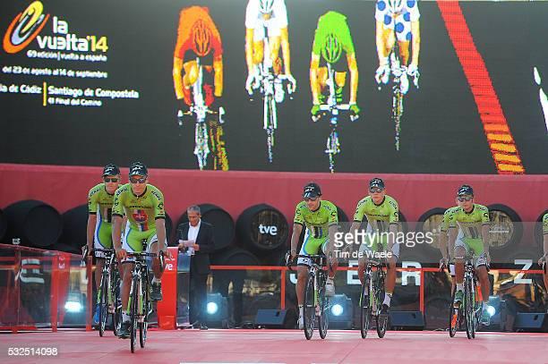 69th Tour of Spain 2014 / Team Presentation Team Cannondale / SAGAN Peter / BENNETT George / BODNAR Maciej / BOIVIN Guillaume / CARUSO Damiano / DE...