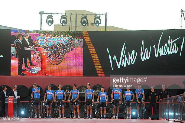 69th Tour of Spain 2014 / Team Presentation Team Garmin Sharp / HESJEDAL Ryder / MARTIN Daniel / FERNANDEZ Koldo / HAAS Nathan / BROWN Nathan /...