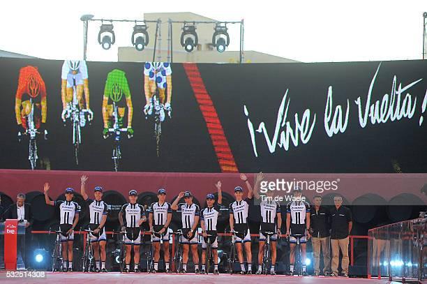 69th Tour of Spain 2014 / Team Presentation Team Giant Shimano / BARGUIL Warren / ARNDT Nikias / CRADDOCK Lawson / DE KORT Koen / DEGENKOLB John /...
