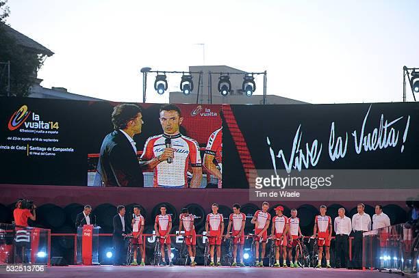 69th Tour of Spain 2014 / Team Presentation Team Katusha / RODRIGUEZ Joaquim / CARUSO Giampaolo / CHERNETCKII Sergei / KOLOBNEV Alexandr / KOZONTCHUK...