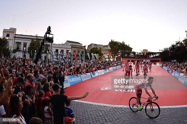 69th Tour of Spain 2014 / Team Presentation Team Katusha / Illustration Illustratie / RODRIGUEZ Joaquim / Public Publiek Spectators / Fans Supporters...