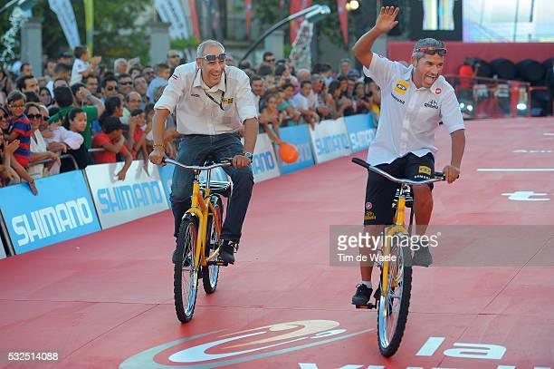 69th Tour of Spain 2014 / Team Presentation Team MTN Qhubeka / LACAMBRA Manel Sportsdirector / ZEMKE Jens Sportsdirector / Presentation d'Equipes...