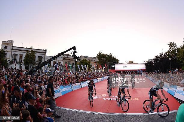69th Tour of Spain 2014 / Team Presentation Team Omega Pharma QuickStep OPQS / Illustration Illustratie / MARTIN Tony / BRAMBILLA Gianluca / URAN...