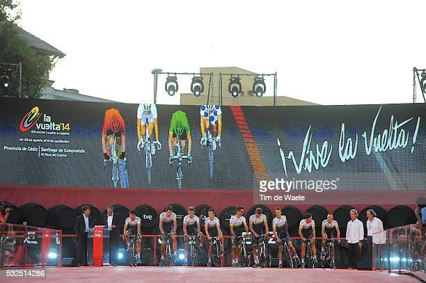 69th Tour of Spain 2014 / Team Presentation Team Orica Greenedge / BEWLEY Sam / CHAVES Johan Esteban / CLARKE Simon / DOCKER Mitchell / LANCASTER...