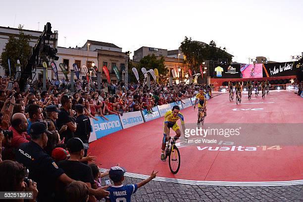 69th Tour of Spain 2014 / Team Presentation Team Tinkoff Saxo / Illustration Illustratie / CONTADOR Alberto / Public Publiek Spectators / Fans...