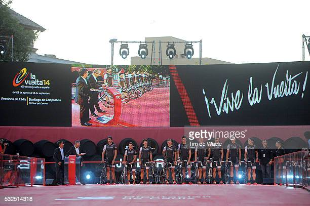 69th Tour of Spain 2014 / Team Presentation Trek Factory Racing / CANCELLARA Fabian / ARREDONDO Julian David / FELLINE Fabio / JUNGELS Bob / POPOVYCH...