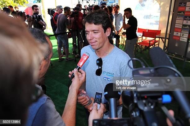 69th Tour of Spain 2014 / Team Presentation URAN Rigoberto / Interview Press Pers Journalist Media / Presentation d'Equipes Ploegenpresentatie /...