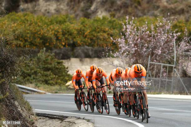 69th Volta a la Comunitat Valenciana 2018 / Stage 3 Kamil Gradek / Team CCC Sprandi Polkowice / Poble Nou De Benitatxell Calpe / Team Time Trial /...