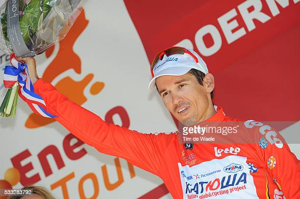 6th Eneco Tour / Stage 4 Podium / Robbie McEWEN Red Jersey / Celebration Joie Vreugde / SintLievensHoutem Roermond / Stage Rit / Tim De Waele |...