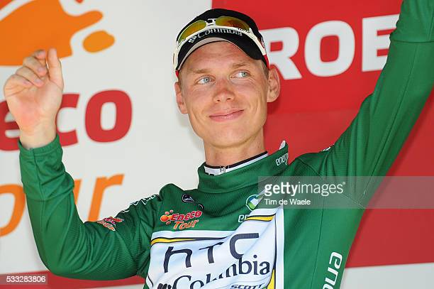 6th Eneco Tour / Stage 4 Podium / Tony MARTIN Green Youngh Jersey / Celebration Joie Vreugde / SintLievensHoutem Roermond / Stage Rit / Tim De Waele...