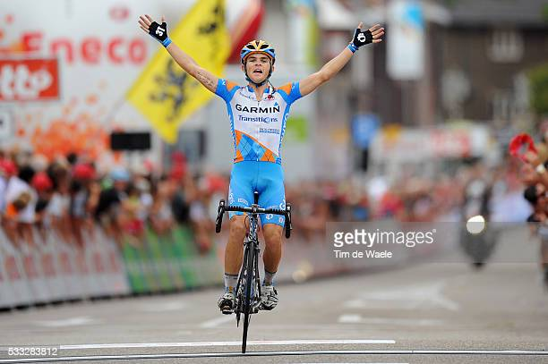 6th Eneco Tour / Stage 5 Arrival / Jack BOBRIDGE Celebration Joie Vreugde / Roermond Sittard / Stage Rit / Tim De Waele | Location Sittard...