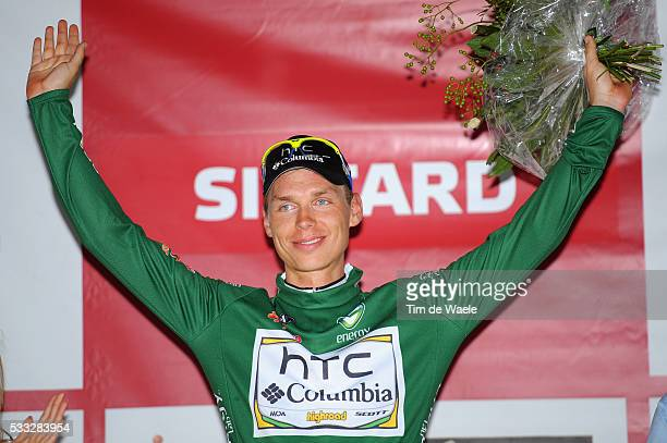 6th Eneco Tour / Stage 5 Podium / Tony MARTIN Green Youngster Jersey / Celebration Joie Vreugde / Roermond Sittard / Stage Rit / Tim De Waele |...