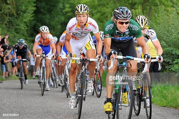 6th Eneco Tour / Stage 5 Tony MARTIN / Edvald BOASSON HAGEN Green Jersey / Roermond Sittard / Stage Rit / Tim De Waele | Location Sittard Netherlands...