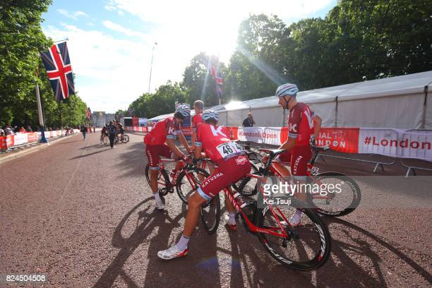 6th Prudential RideLondonSurrey Classic 2017 / Men Arrival / Michael MORKOV / Nils POLITT / Rick ZABEL / London London / Prudential RideLondon /