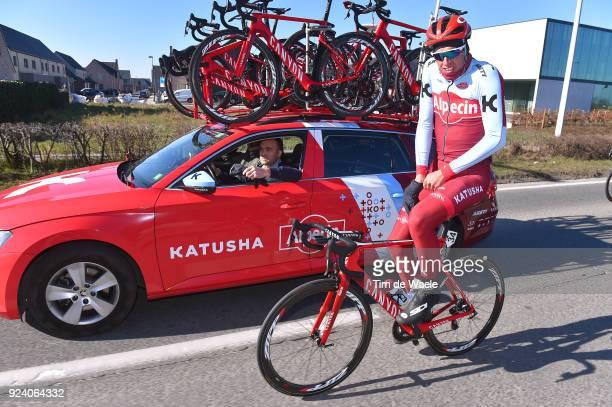 70th Kuurne Brussels Kuurne 2018 Nils Politt of Germany / Team KatushaAlpecin of Switzerland / Kuurne Brussel Kuurne / KBK / Bxl /