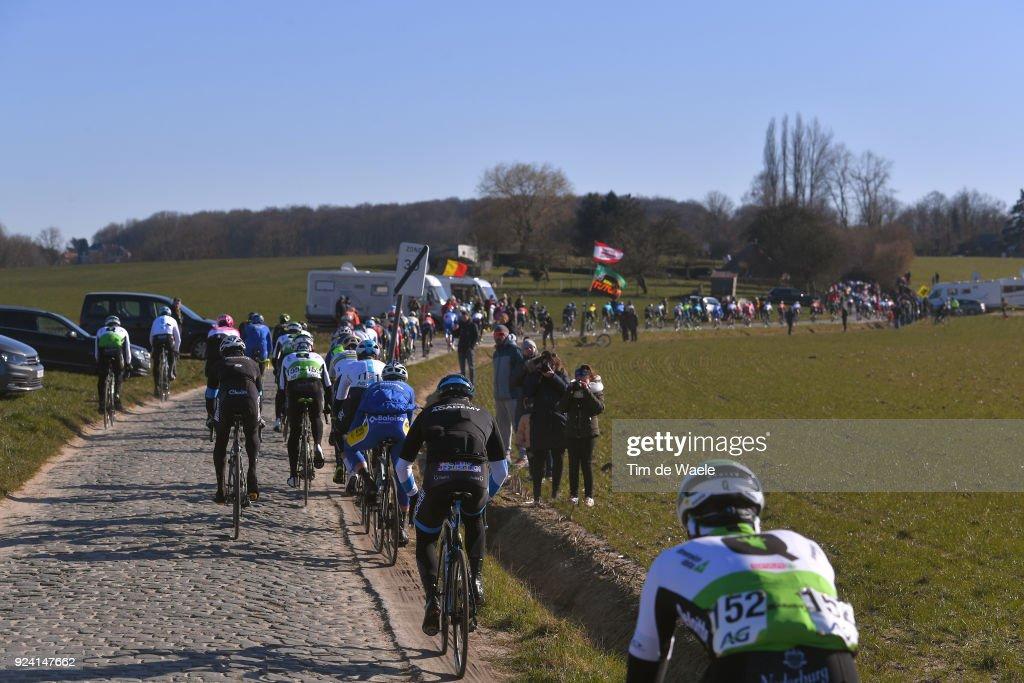 70th Kuurne - Brussels - Kuurne 2018 Peloton / Oude Kwaremont / Landscape / Kuurne - Brussel - Kuurne (200,1Km)/ K-B-K / Bxl /