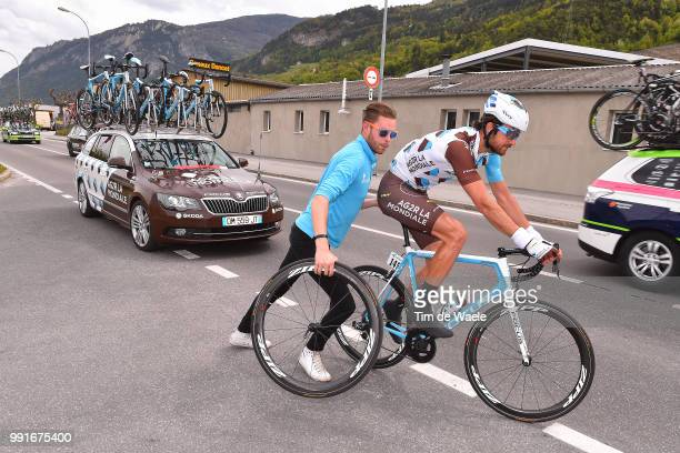70Th Tour De Romandie 2016 Stage 4Gastauer Ben / Mecanic Mecanicien Mekanieker Team Ag2R La Mondiale / Car Voiture Auto Zipp Wheel Roue Wiel Conthey...