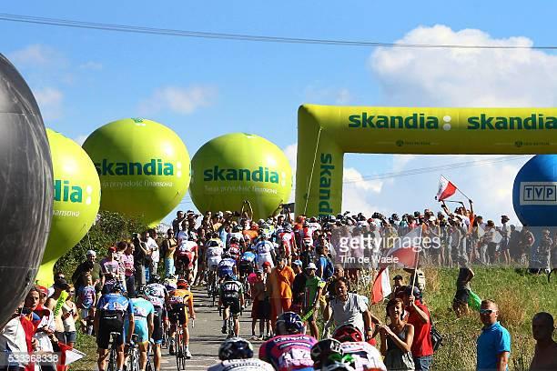 70th Tour of Poland/ Stage 6 Ilustration Ilustratie/ Peloton Peleton/ Landscape Paysage/ Bukovina Terma Hotel Spa - Bukowina Tatrzanska Tour de...