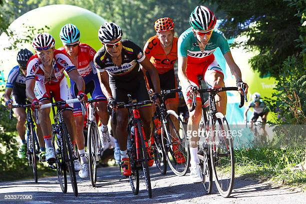 70th Tour of Poland/ Stage 6 Ivan SANTAROMITA / Darwin ATAPUMA /Bukovina Terma Hotel Spa - Bukowina Tatrzanska Tour de Pologne Ronde Van Polen/ Rit...