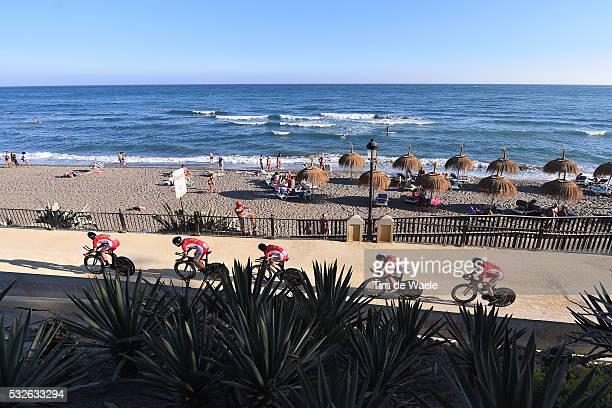70th Tour of Spain 2015 / Stage 1 Illustration Illustratie/ Landscape Paysage/ Sea Mer/ Team COFIDIS SOLUTIONS CREDITS / BOUHANNI Nacer / BAGOT Yohan...