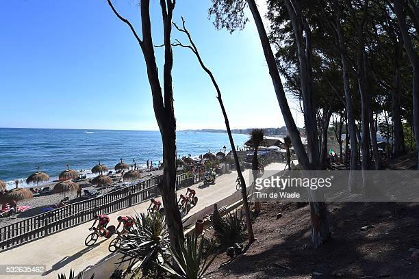 70th Tour of Spain 2015 / Stage 1 Illustration Illustratie/ Landscape Paysage/ Sea Mer/ Team BMC RACING / SANCHEZ GONZALEZ Samuel / ATAPUMA HURTADO...
