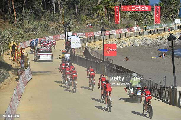 70th Tour of Spain 2015 / Stage 1 Team BMC RACING / SANCHEZ GONZALEZ Samuel / ATAPUMA HURTADO Darwin / BURGHARDT Marcus / DE MARCHI Alessandro /...