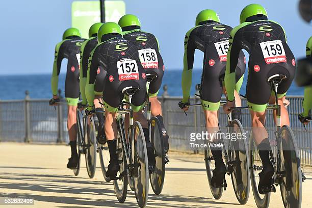 70th Tour of Spain 2015 / Stage 1 Team CANNONDALE GARMIN TALANSKY Andrew / CARDOSO Andre Fernando S. Martins / DOMBROWSKI Joseph Lloyd / HOWES Alex /...