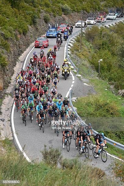 70th Tour of Spain 2015 / Stage 11 Illustration Illustratie/ Peloton Peleton/ Landscape Paysage/ Andorra la Vella - Cortals d'Encamp Rit Etape /...