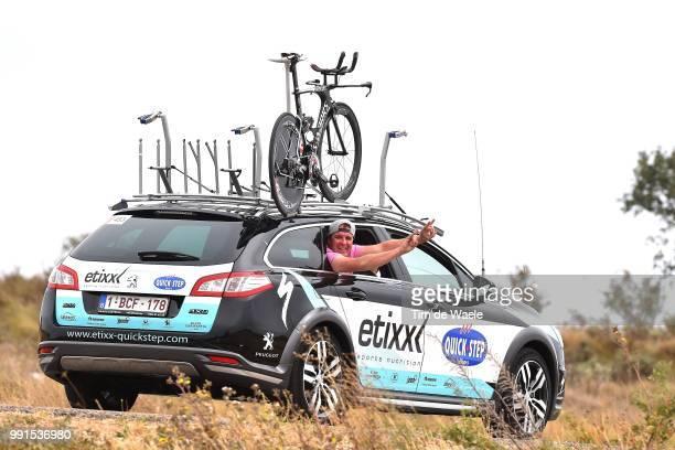 70Th Tour Of Spain 2015 Stage 17Team Etixx Quick Step / Dieter Lefevere / Team Car/Burgos Burgos Time Trial Contre La Montre Tijdrit/ Rit Etape...