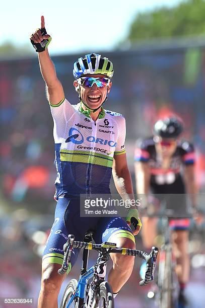 70th Tour of Spain 2015 / Stage 2 Arrival / CHAVES Johan Esteban Celebration Joie Vreugde / Alhaurin De La Torre Caminito Del Rey 560m / Rit Etappe /...