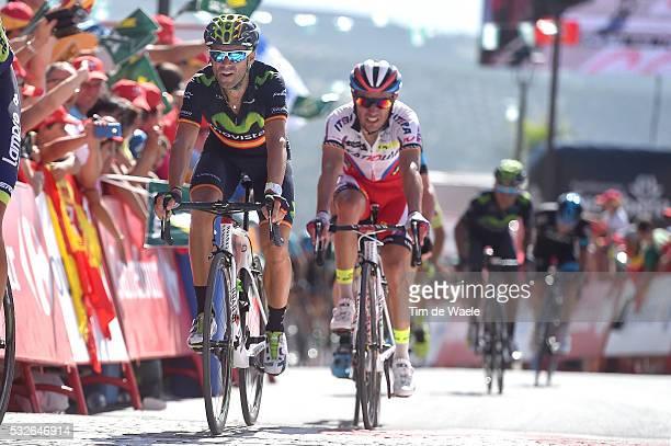 70th Tour of Spain 2015 / Stage 6 Arrival / VALVERDE Alejandro / RODRIGUEZ Joaquin / Cordoba Sierra de Cazorla 930m / Rit Etape / Vuelta Tour...