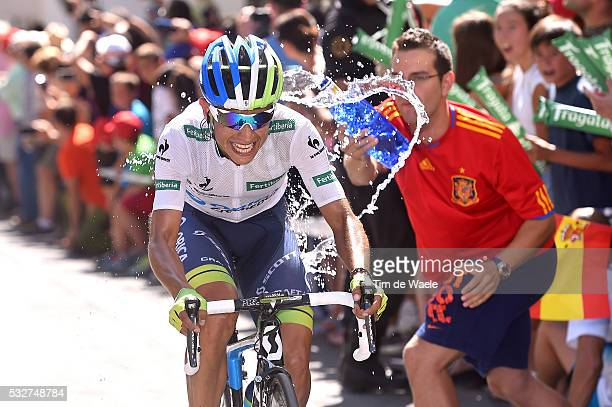 70th Tour of Spain 2015 / Stage 6 CHAVES Johan Esteban White Point Jersey / Cordoba Sierra de Cazorla 930m / Rit Etape / Vuelta Tour d'Espagne Ronde...
