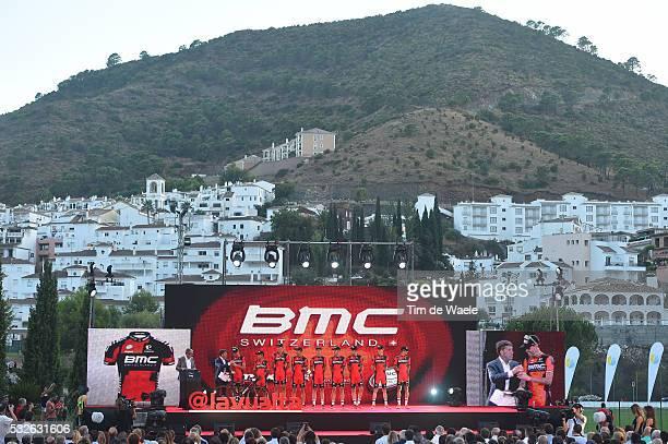 70th Tour of Spain 2015 / Team Presentation Team BMC RACING / SANCHEZ GONZALEZ Samuel / ATAPUMA HURTADO Darwin / BURGHARDT Marcus / DE MARCHI...