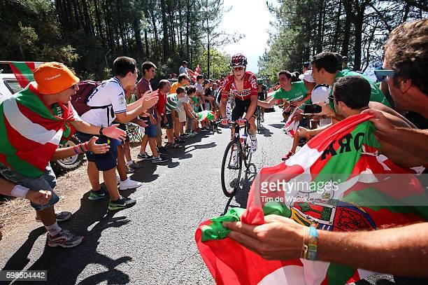 71st Tour of Spain 2016 / Stage 12 Louis VERVAEKE / Public / Alto El Vivero 410m / Fans Public / Peloton / Los Corrales de Buelna - Bilbao / La...