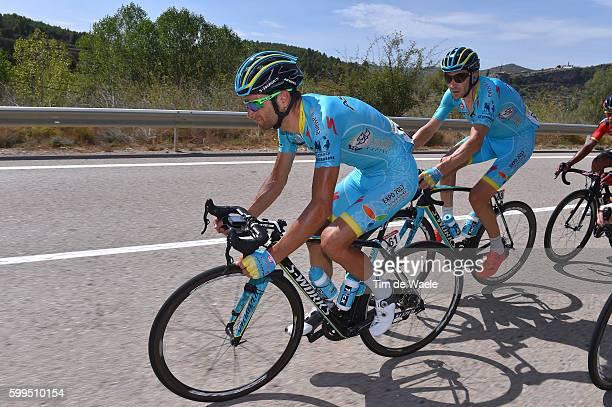 71st Tour of Spain 2016 / Stage 16 Michele SCARPONI / Alessandro VANOTTI / Alcaniz - Peniscola / La Vuelta /