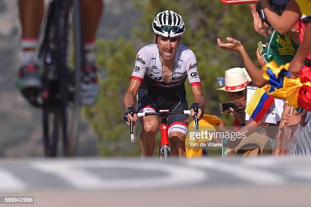 71st Tour of Spain 2016 / Stage 17 Arrival / Haimar ZUBELDIA / Castellon Llucena Camins del Penyagolosa 980m / La Vuelta /