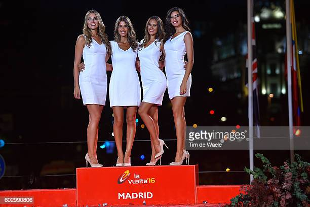 71st Tour of Spain 2016 / Stage 21 Podium / Miss Hostess / Las Rozas Madrid / La Vuelta /