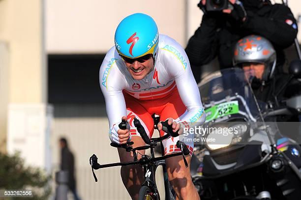71th Paris - Nice 2013 / Prologue Jakob FUGLSANG / Houilles - Houilles / Time Trial Contre la Montre Tijdrit / Proloog / Etape Rit /Tim De Waele