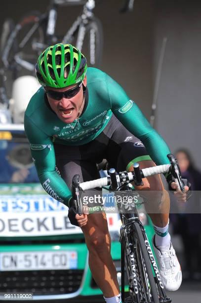 71Th Paris Nice 2013 Prologue Thomas Voeckler / Houilles Houilles / Time Trial Contre La Montre Tijdrit Proloog Etape Rit /Tim De Waele
