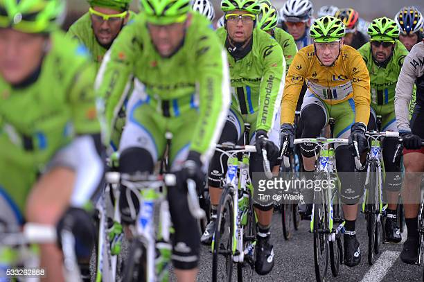 71th Paris - Nice 2013 / Stage 3 VIVIANI Elia Yellow Jersey / Team Canondale / Chatel-Guyon - Brioude / Etape Rit /Tim De Waele