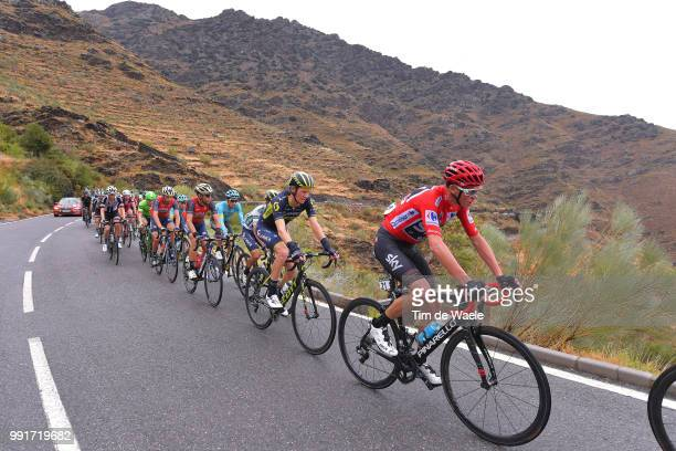 72Nd Tour Of Spain 2017 Stage 11Christopher Froome Red Leader Jersey Jack Haig / Johan Esteban Chaves White Combined Jersey Vincenzo Nibali / Peloton...