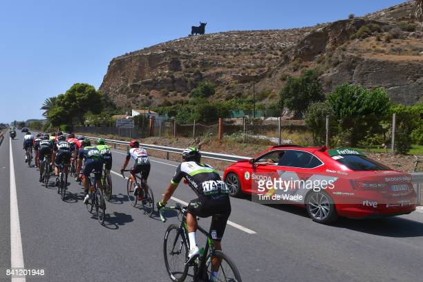 72nd Tour of Spain 2017 / Stage 12 Pawel POLJANSKI / Andreas SCHILLINGER / Edward THEUNS / Jose Joaquin ROJAS / Julien DUVAL / Brendan CANTY /...