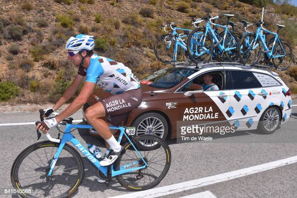 72nd Tour of Spain 2017 / Stage 13 Alexandre GENIEZ / Julien JURDIE Sportdirector / Team AG2R La Mondiale / Feed Zone / Car / Coin Tomares 105m / La...