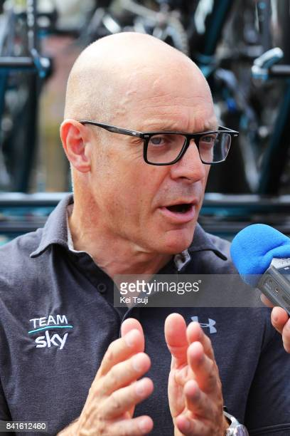 72nd Tour of Spain 2017 / Stage 13 Dave BRAILSFORD Team Manager Team SKY / Coin Tomares 105m / La Vuelta /