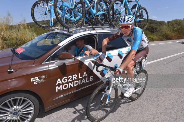 72nd Tour of Spain 2017 / Stage 13 Romain BARDET / Julien JURDIE Sportdirector / Team AG2R La Mondiale / Feed Zone / Car / Coin Tomares 105m / La...